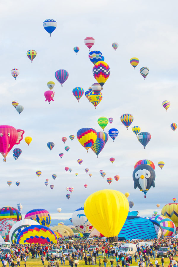 Balloon Fiesta: Interview with Balloon Judge Patricia Rudy-Baese