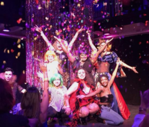 Jewel Box Cabaret's last show in Santa Fe, New Mexico