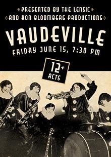 Vaudeville comedy show in Santa Fe New Mexico
