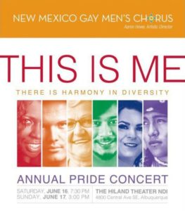 NMGMC Annual Gay Pride Concert