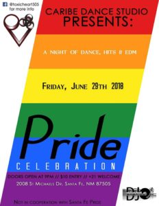 Santa Fe Gay Pride 2018 DJ Dance Night