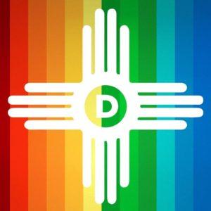 Santa Fe Gay Pride Parade Young Democrats