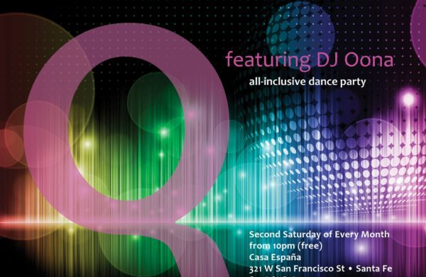 Q Featuring DJ Oona - GBLTQ+ oriented gay bar dance party