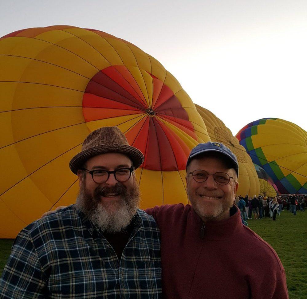 Gay men from Pittsburgh move to Santa Fe