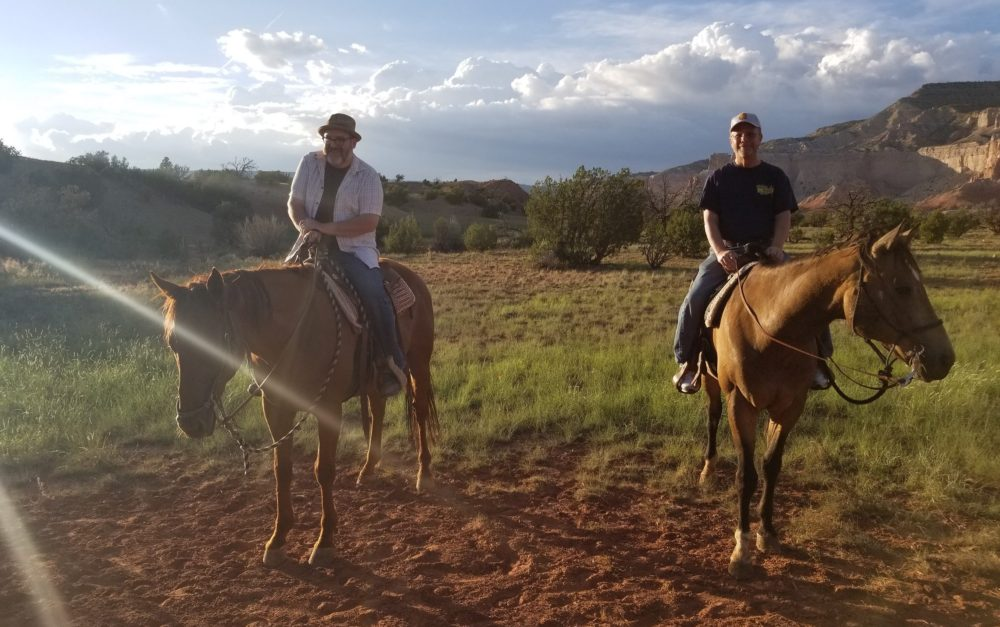 Gay men chose to live in Santa Fe for next chapter
