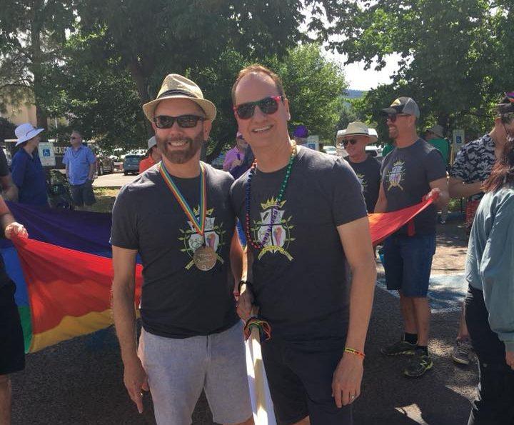 Santa Fe Pride Parade on the Plaza