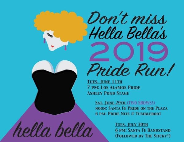 Santa Fe Pride Hella Bella Events