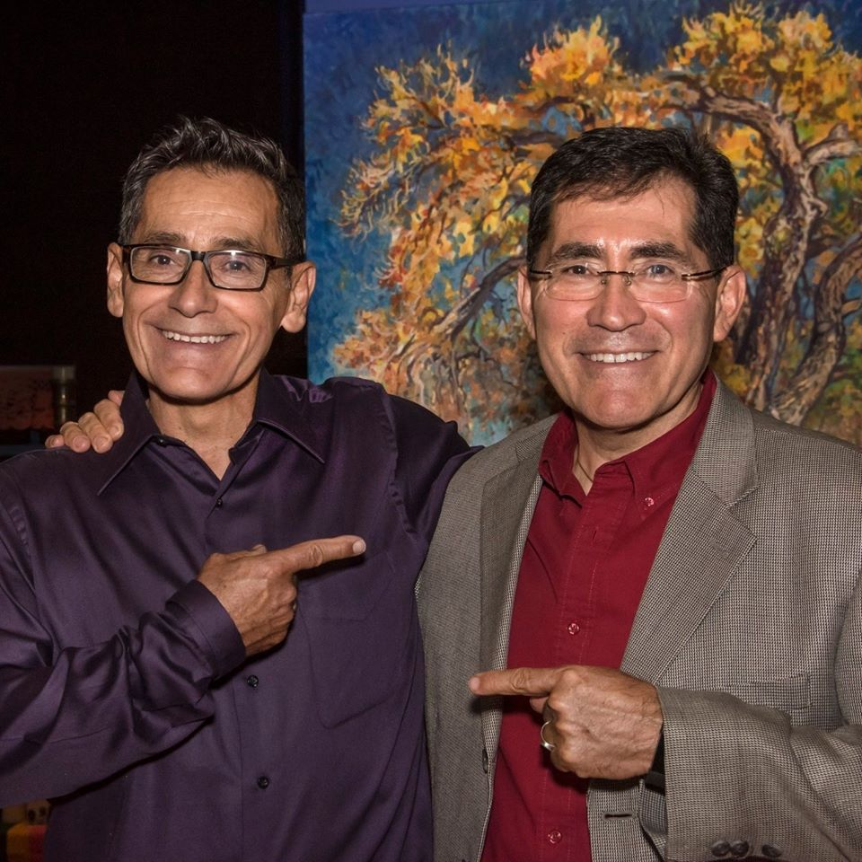 CNN Hero Roger Montoya with brother